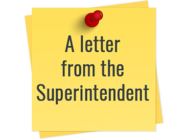 letter from super